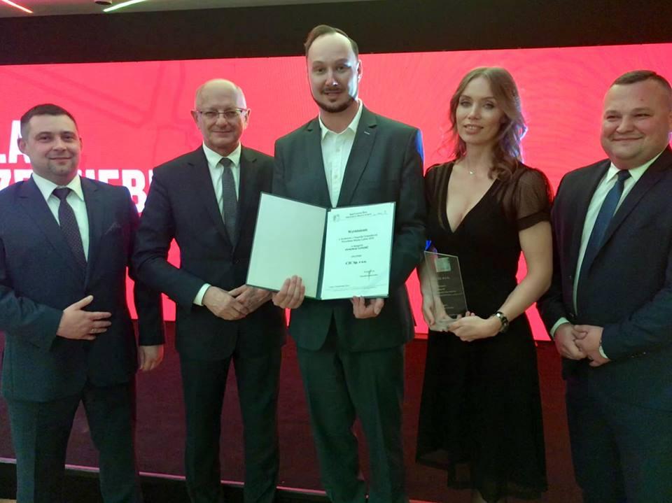 Jesteśmy w gronie zwycięzców Konkursu o Nagrodę Gospodarczą Prezydenta Miasta Lublina 2018